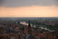 The view of Heidelberg Royalty Free Stock Photo