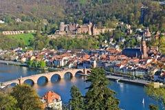 View on Heidelberg royalty free stock photo