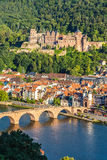 View on Heidelberg Stock Photography