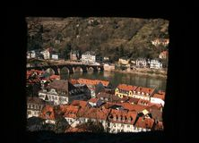 View from the Heidelberg castle Stock Photography