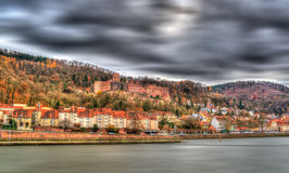 View of Heidelberg Castle - Germany Royalty Free Stock Images