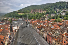 View from Heidelberg Cathedral Stock Photo
