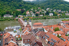 View of Heidelberg, Germany Stock Photo