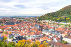 View of Heidelberg Germany Stock Photos
