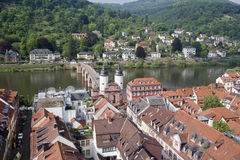 View of Heidelberg, Germany Royalty Free Stock Image