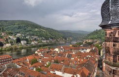 View of Heidelberg, Germany Royalty Free Stock Images