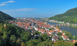 View of Heidelberg Old Town, Germany Stock Image