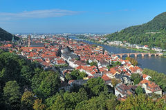 View of Heidelberg Old Town, Germany Stock Photo