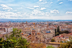 View from height to Granada Royalty Free Stock Image