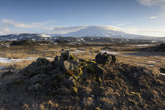 View on Hekla volcano Royalty Free Stock Image