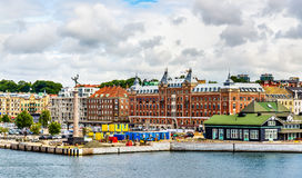 View of Helsingborg city centre - Sweden Stock Photos