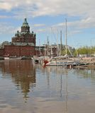 View of Helsinki. Summer morning Royalty Free Stock Images