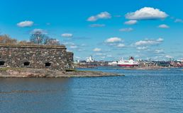 View of Helsinki. Stock Images