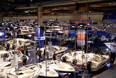 View of Helsinki Boat Show 2009 Exibition Stock Photography
