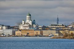 View of Helsinki Royalty Free Stock Photography