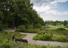 View of Herastrau park Royalty Free Stock Photos