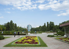 View of Herastrau park Stock Photos