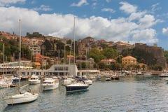 View of Herceg Novi-city. Montenegro Royalty Free Stock Image
