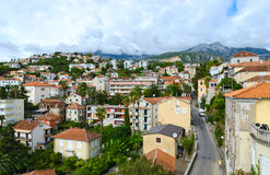 View of Herceg Novi from fortress wall, Montenegro Royalty Free Stock Photos