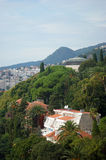 View from Herceg Novi. View of the green southern city of Herceg Novi (Montenegro Stock Image