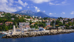 View of Herceg Novi, Montenegro Royalty Free Stock Photo