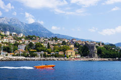 View of Herceg Novi, Montenegro Royalty Free Stock Photography