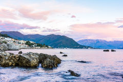 View on Herceg novi Royalty Free Stock Photos