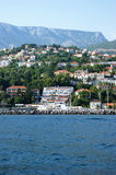 View Herceg Novi from the sea Stock Image