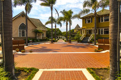 View of Heritage Square in Oxnard, California Royalty Free Stock Photos