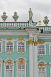View of Hermitage museum in Saint-Petersburg city, Russia. Stock Photos