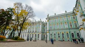View of Hermitage Museum Winter Palace