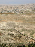 View from Herodium � King Herod's Palace-Fortress II., Judean Desert, Israel Royalty Free Stock Image