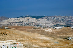 View from Herodium, Palestine Stock Photo