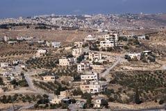 View from Herodium, Palestine Stock Image