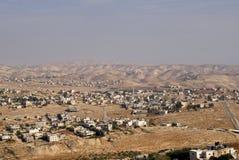 View from Herodium, Palestine Stock Photo