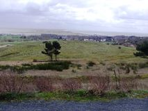 View of Hiddensee. Kloster / Hiddensee, Germany 2014 Royalty Free Stock Photography