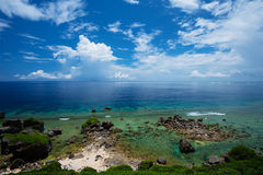 The View from HIGASHI HENNA Cape, Okinawa Prefecture/Japan Royalty Free Stock Photos