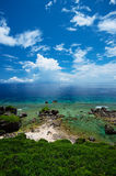 The View from HIGASHI HENNA Cape, Okinawa Prefecture/Japan Stock Photography