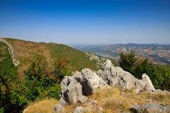 View of high. Look at the dam of Vratsa, Bulgaria Stock Photos