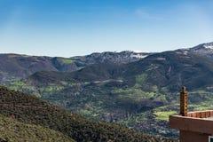 High Atlas Mountain. View of High Atlas Mountain Stock Images