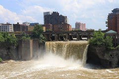 View of the High Falls in Rochester Royalty Free Stock Photography