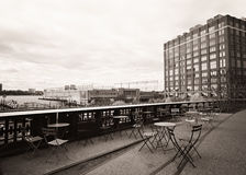 View from the High Line Stock Image