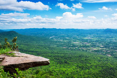 View from the high mountain Stock Images