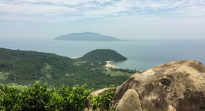 View of a high moutain with wonderful sea Stock Photo