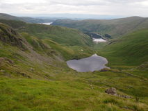 View from High Street towards Haweswater in the English Lake District Stock Image