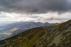 View of high Tatra Stock Photo