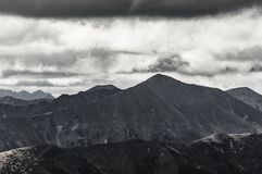 View of high Tatra Stock Photography