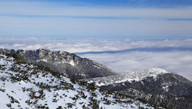 View from High Tatras mountains Stock Photography