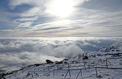 View from High Tatras mountains. Slovakia stock photos
