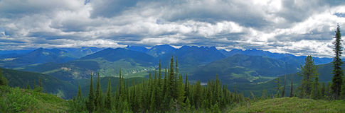 The View From High Up On Stanton Ridge Stock Image